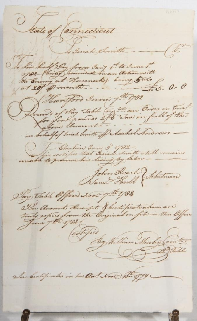 Revolutionary War Document