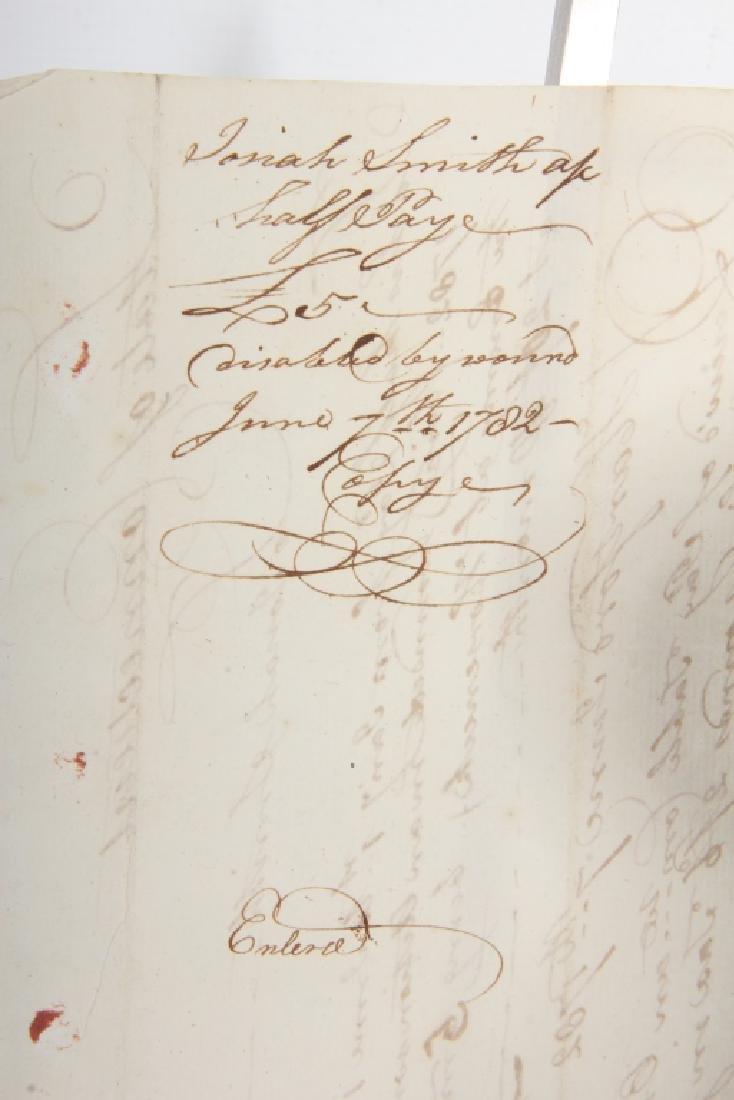 Revolutionary War Document - 2