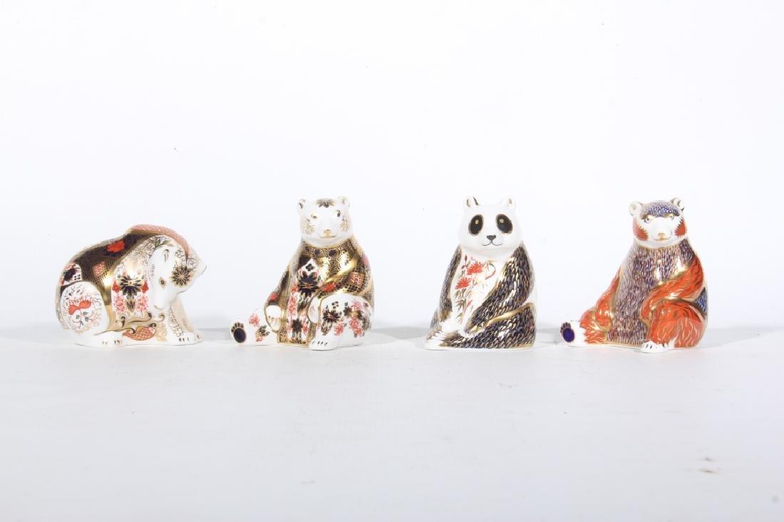 Collection Figural Porcelain Old Imari Bears