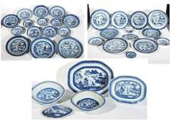 Collection Antique Chinese Canton Articles