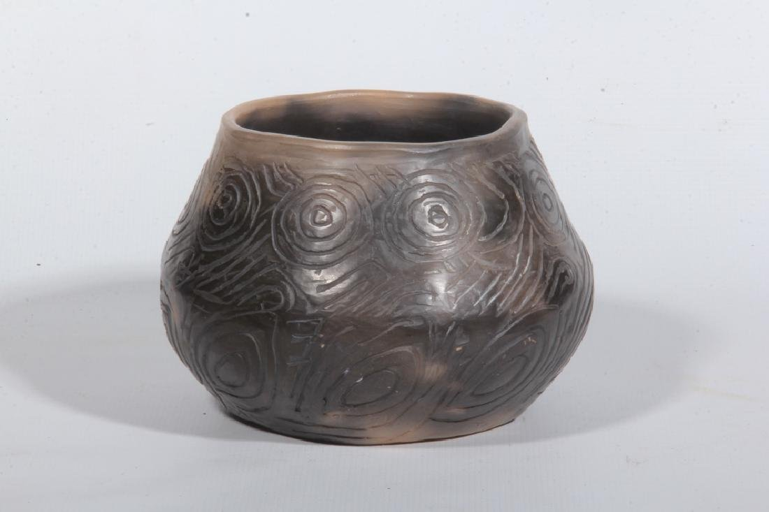 Southern Native American Pottery Decorated Jar