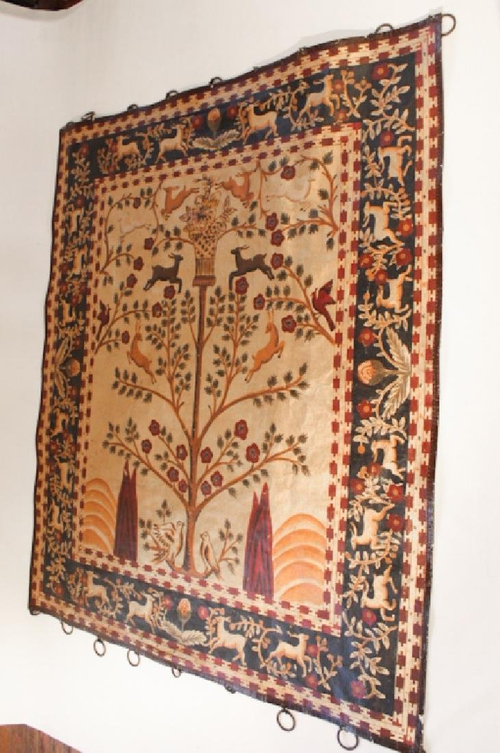 Quality Antique Painted Wall Hanging