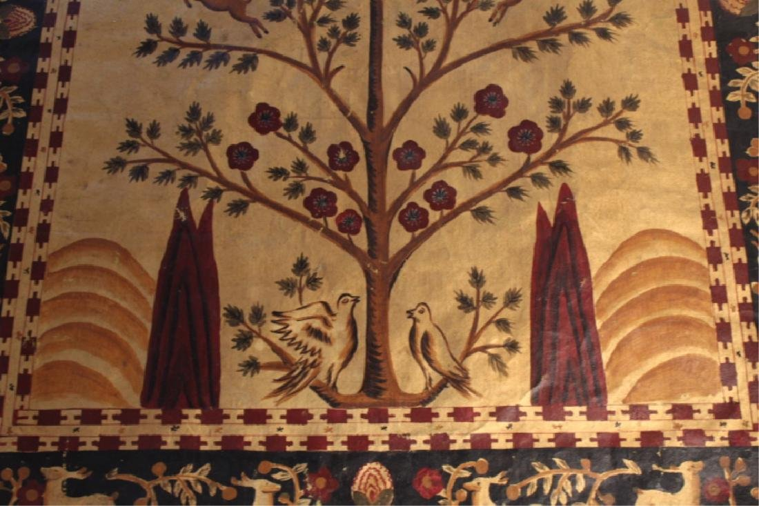 Quality Antique Painted Wall Hanging - 3