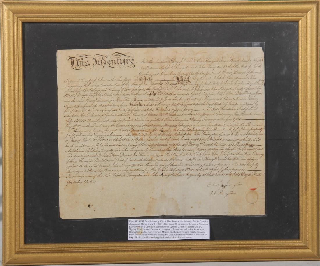 18th Century Revolutionary War Document