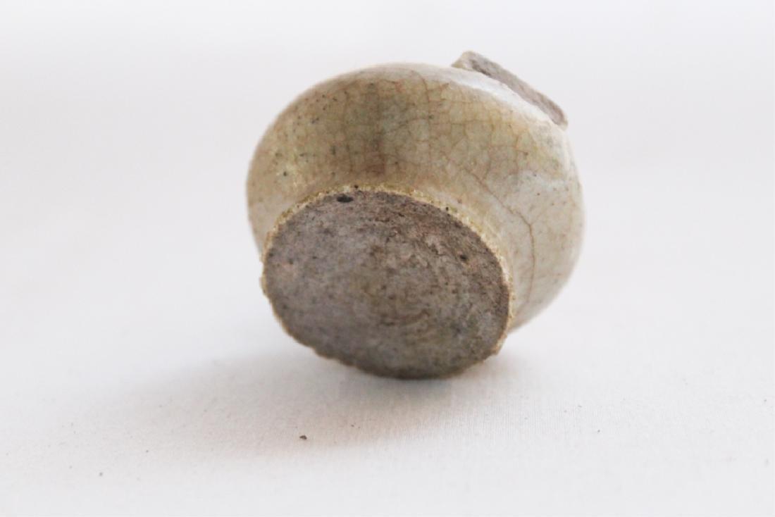 Rare Southern Stoneware Alkaline Glazed Bird - 4