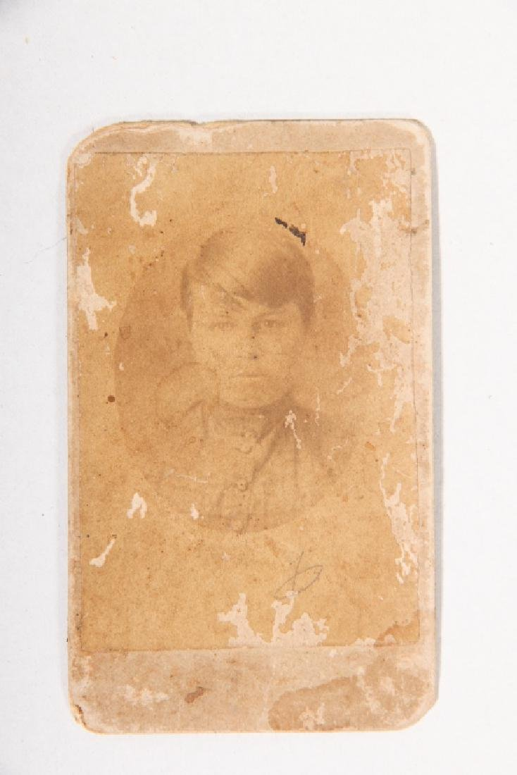 Antique Laurens, SC Photograph of Young Woman