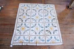 Antique American Pictorial Quilt