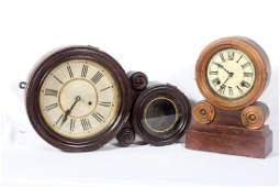 Two Antique American Clocks