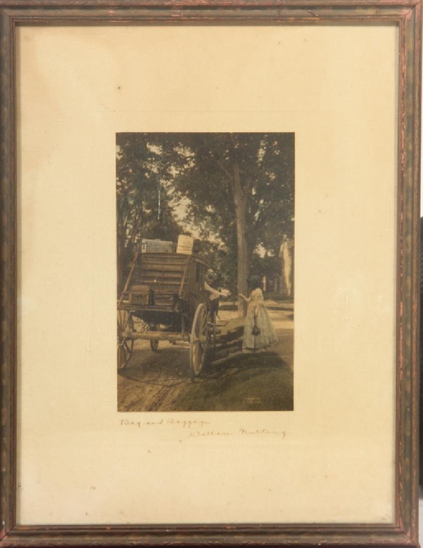 Hand Colored Print by Wallace Nutting