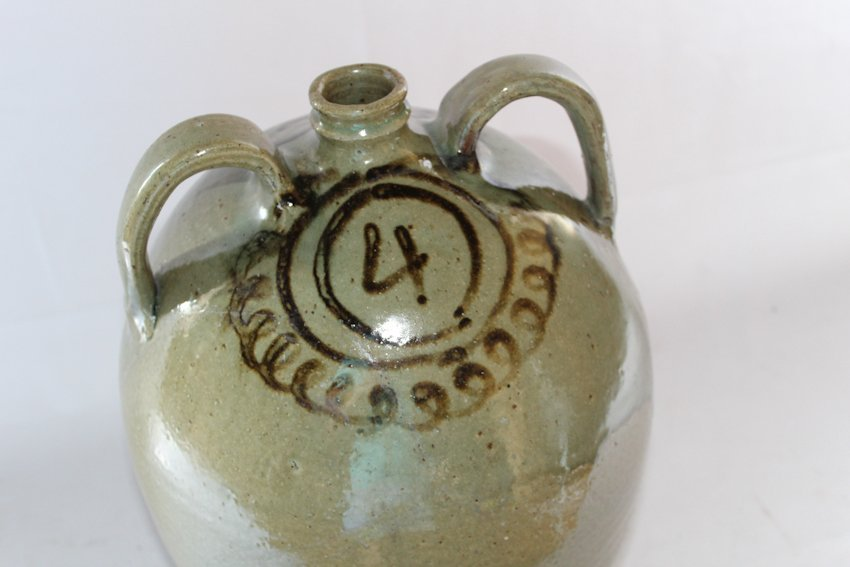 Fine Southern Decorated Stoneware Jug - 3