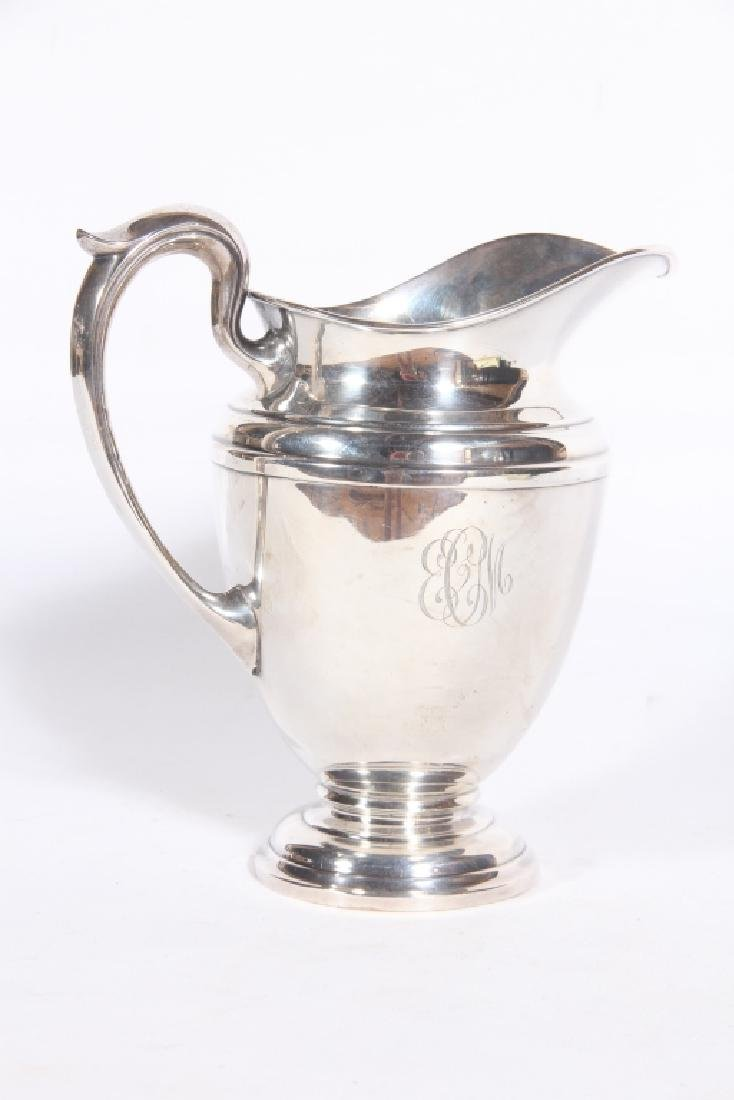 Whiting Sterling Silver Water Pitcher