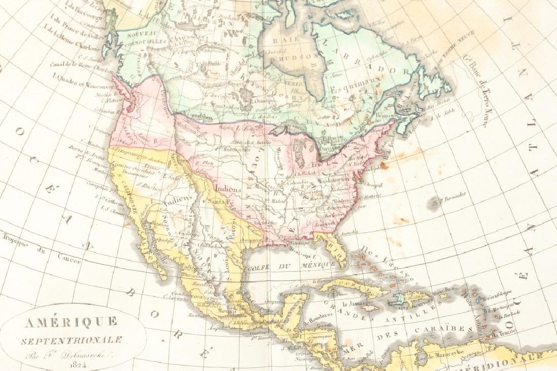 French Map of the United States 1824 - 2