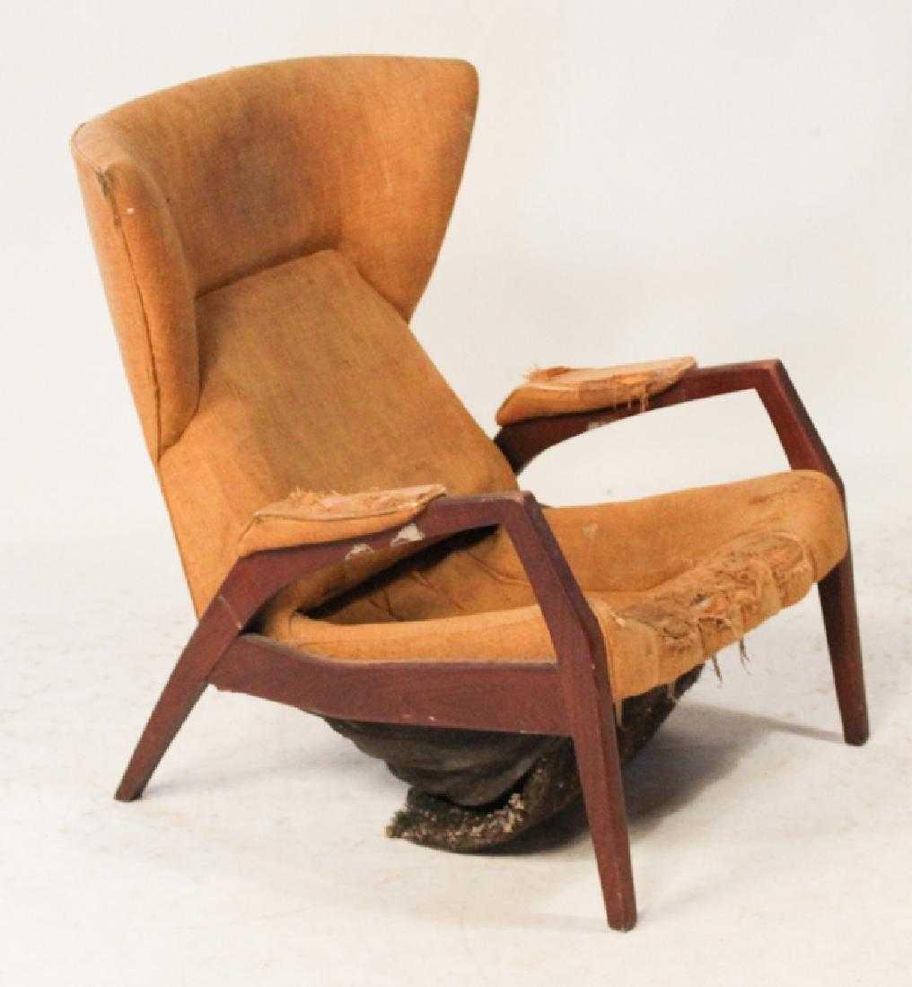 Period Danish Modern Teak Wood Easy Chair