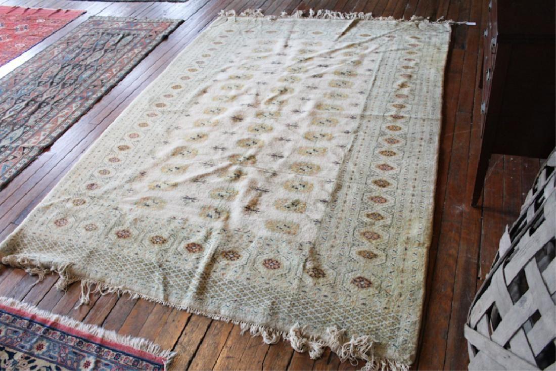 Vintage Persian Bokhara Carpet