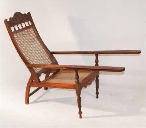 - Antique Plantation Or Planters Chair