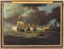 British School Ship Portrait