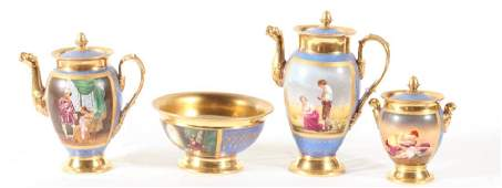 Paris Porcelain Partial Tea & Coffee Service