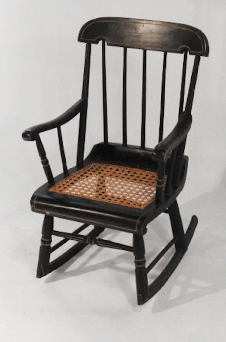 Benchmade Windsor Style Child's Rocking Chair