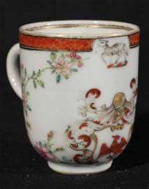 Antique Chinese Yongzheng Porcelain Tea Cup