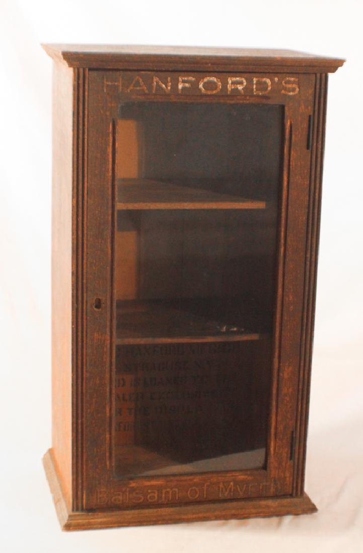 Antique Country Store Advertising Cabinet