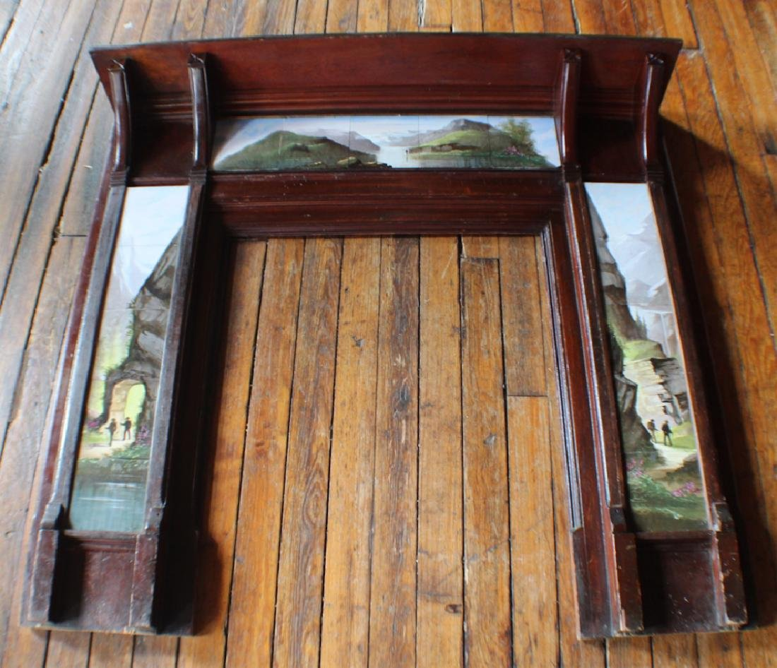 Arts & Crafts Period Fireplace Surround