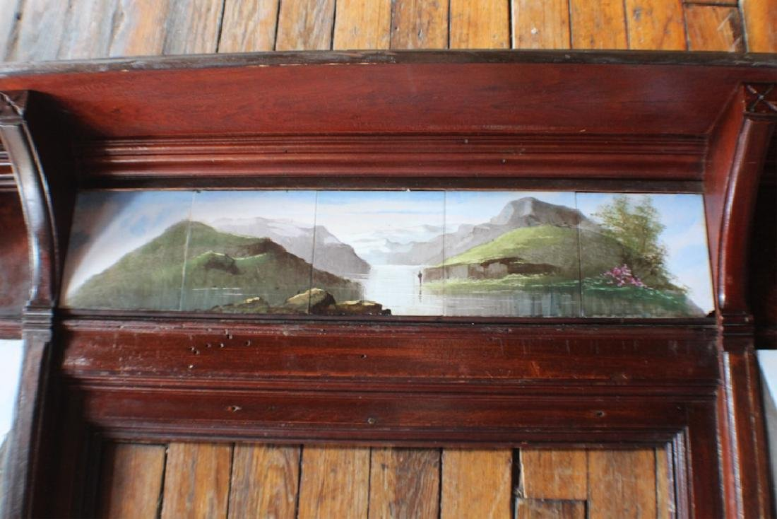 Arts & Crafts Period Fireplace Surround - 5