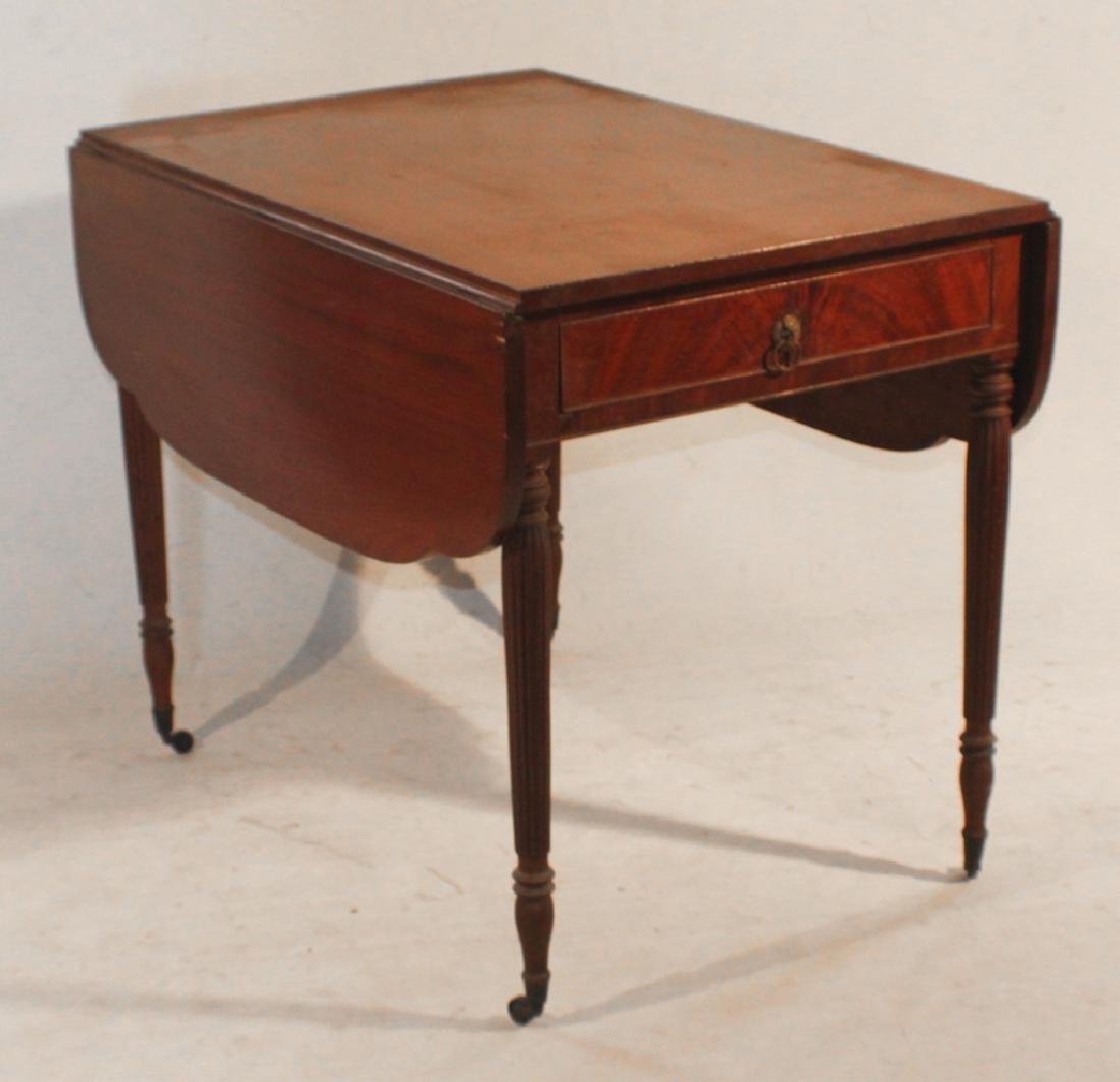 Federal Mahogany Pembroke Table