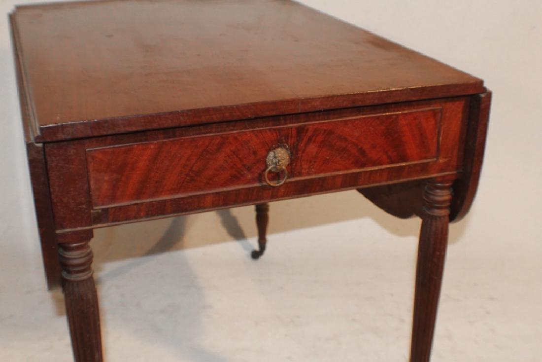 Federal Mahogany Pembroke Table - 4