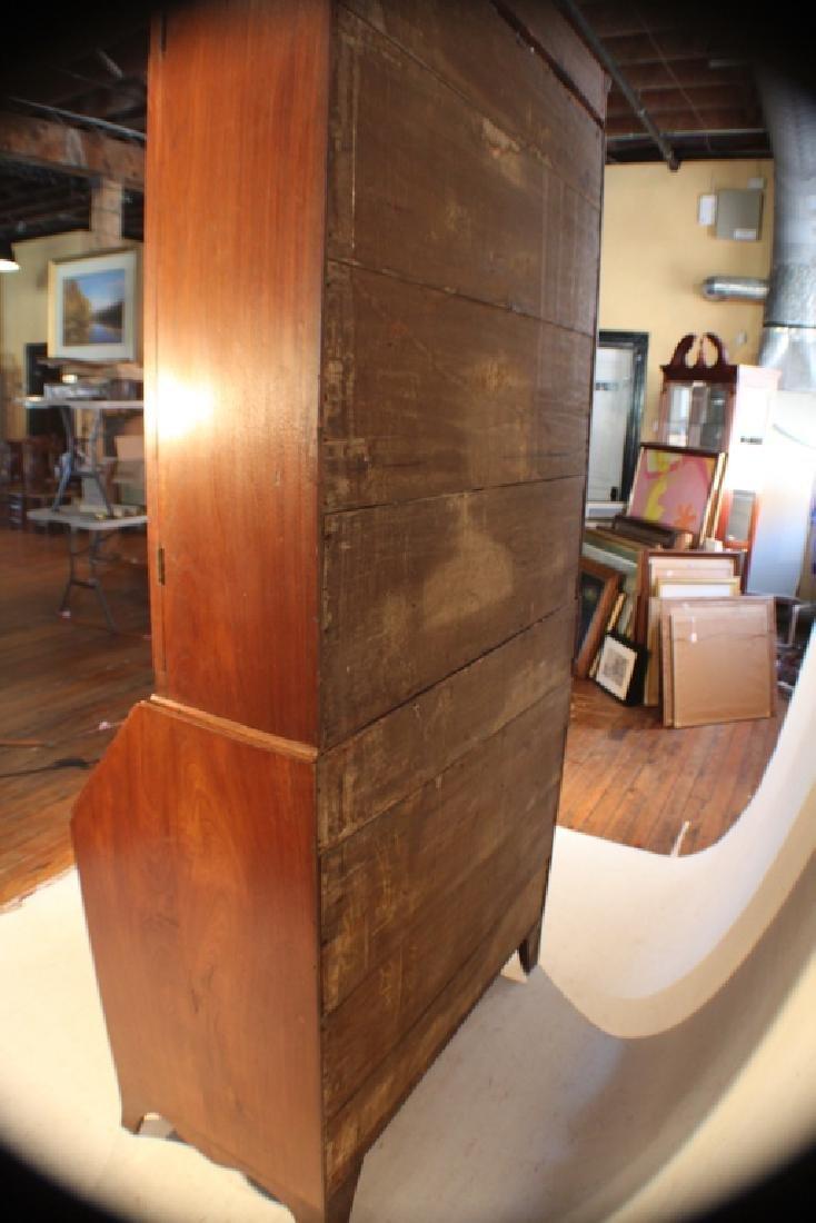 Southern Federal Walnut Secretary Bookcase - 2