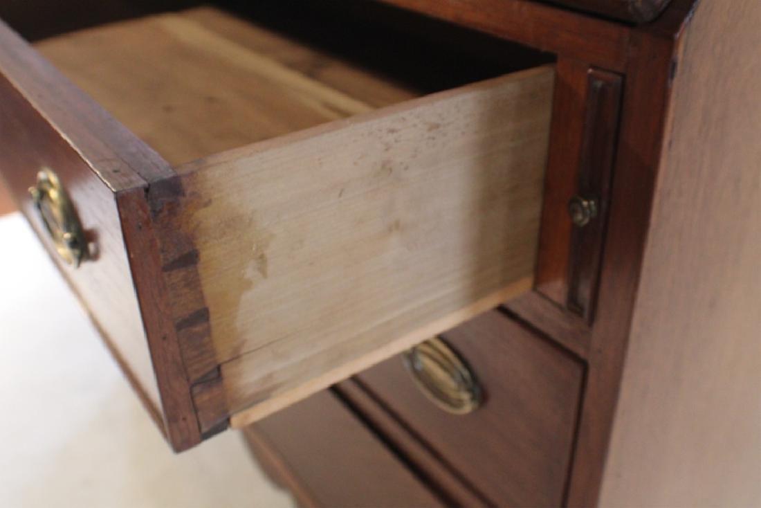 Southern Federal Walnut Secretary Bookcase - 4
