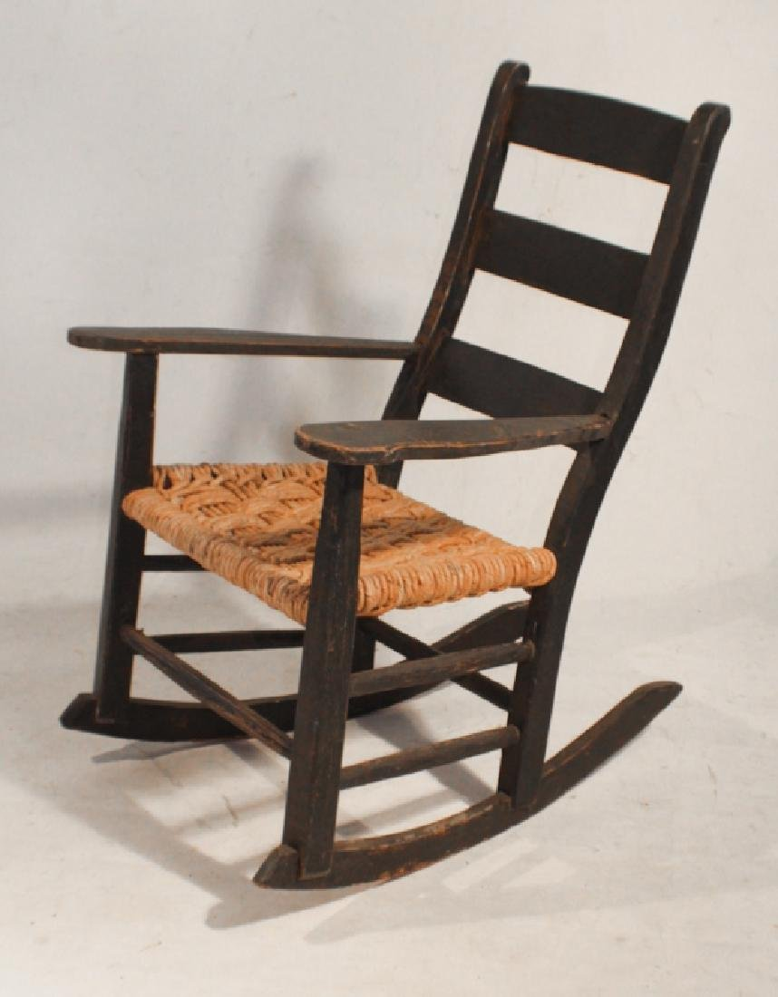 SC African American Hand Made Youth Rocking Chair