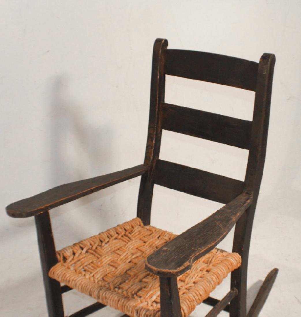 SC African American Hand Made Youth Rocking Chair - 2