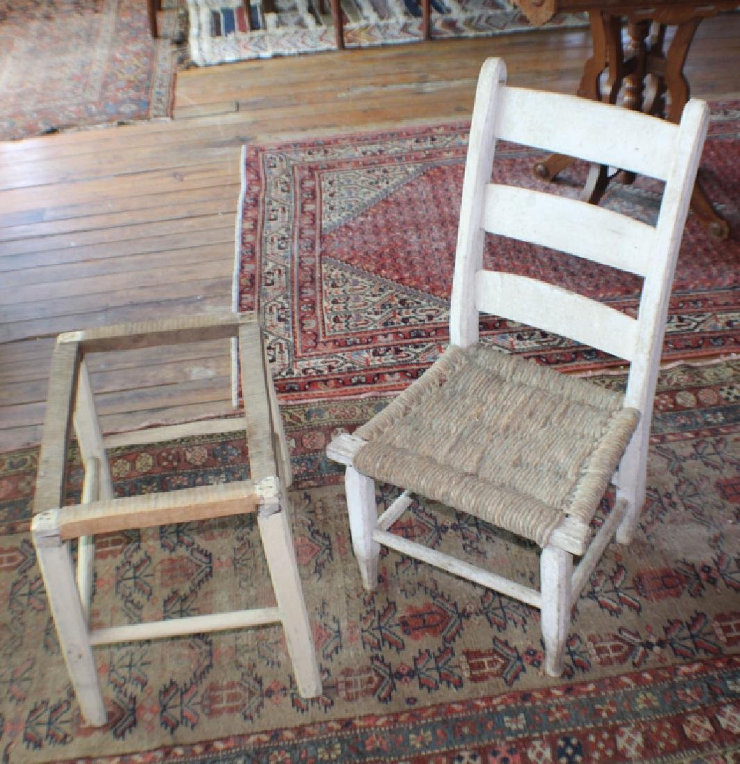 Early SC African American Hand Made Side Chair