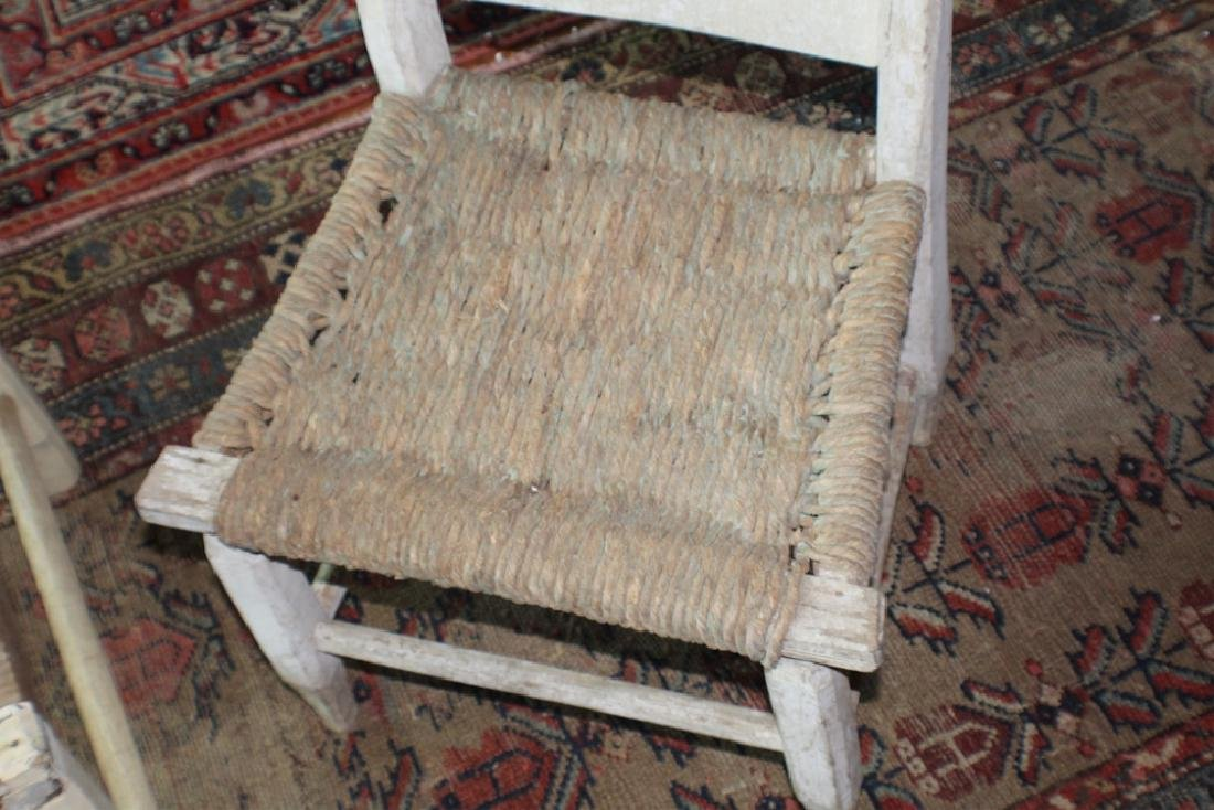 Early SC African American Hand Made Side Chair - 2