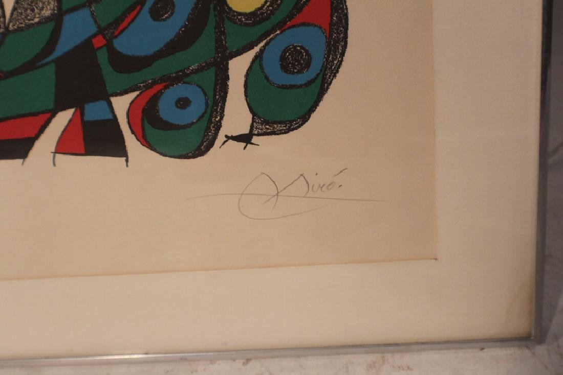 Period Joan Miro Pencil Signed Lithograph - 2