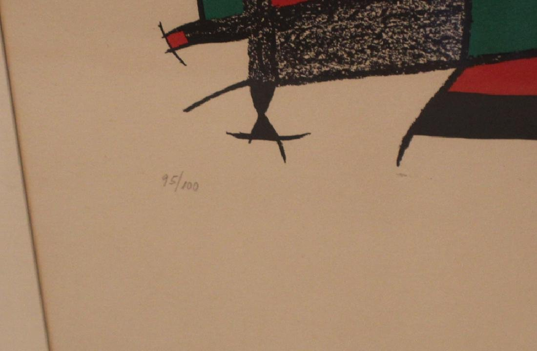 Period Joan Miro Pencil Signed Lithograph - 3