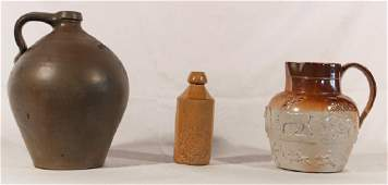 Collection Antique Salt Glazed Stoneware Articles