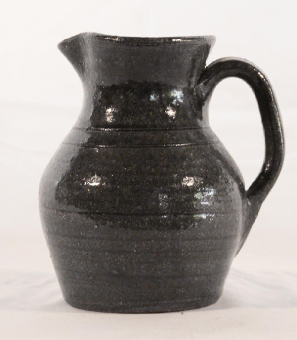 Southern Stoneware Pitcher by John Meaders