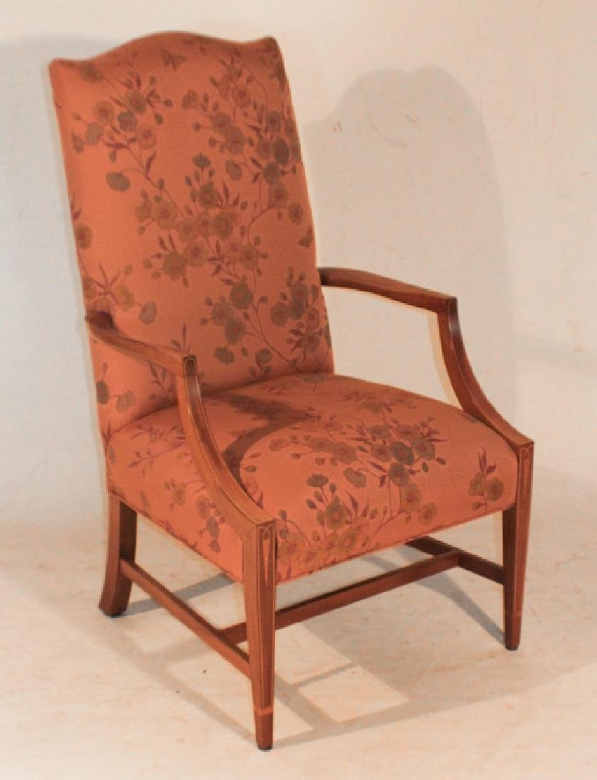 SC Bench Made Mahogany Armchair by Ben Covington