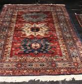 Vintage Persian Heriz Style Designer Carpet