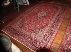 Vintage Persian Kashan Carpet