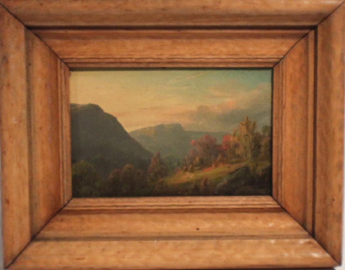 American School 19th Century Mountain Landscape