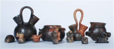 Collection Catawba Pottery Works by Sally Brown
