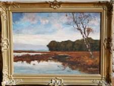 Continental School Impressionist Landscape