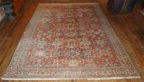 Very Fine Antique Persian Serapi Heriz Carpet