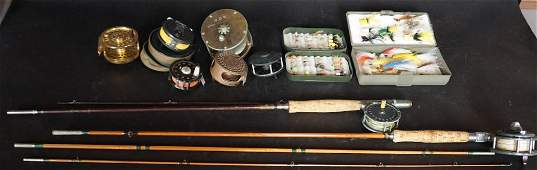 Collection Vintage Fly Fishing Pieces