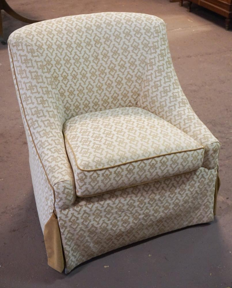 Custom Designer Wesley Hall Upholstered Easy Chair