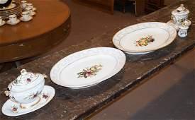 Very Fine French Old Paris Porcelain Serving Set