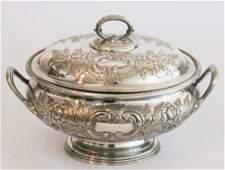 Handsome Elkington Silver Plate Soup Tureen