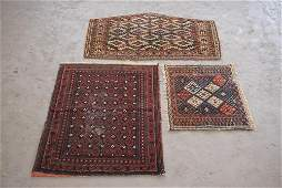 Collection Three Antique Persian Tribal Carpets